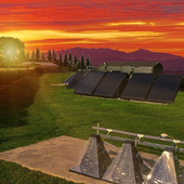 <span class=heading><b>Fuelling the rise of solar</b> by Fatin Abdalla</span><br />The image shows the progression of solar collection systems that harness energy from the sun to convert to power. The front-most system, invented in 2019, is able to be flat-packed for easy transport. Working with Soltropy and utilizing a test-rig at Heriot-Watt University, we are aiming toimprove the performance of this solar collector, incorporating heat storage to extend availability of solar energy, therebyoptimising supply to meet demand.<br /><span class=small>Image: © 2020 Fatin Abdalla</span>. <span class=small>Collaborators: None</span>