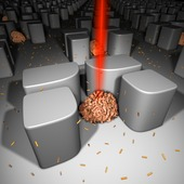 """<div><div style=""""float:left;padding-left:5px;width:70%""""><span class=heading><b>TARGET, INVESTIGATE AND HEAL</b> by Carlota Cunha Matos</span><br /> The picture shows nanoparticles being delivered to single trapped cells. Nanomaterials are becoming very popular for therapeutic applications, but new tools are needed to look at the interaction of nanomaterials with cells prior to their clinical use. Here, very small (microfluidic) structures are used to trap and monitor cells individually while they are exposed to nanoparticles, allowing for new nano-based drugs or vaccines to be tested more efficiently. <br /><span class=small>Image: &copy; 2015 Carlota Cunha Matos</span>. &nbsp;<span class=small>Collaborators: A.W. Wark, O.R. Millington, M. Zagnoni, L. Cunha Matos</span></div><div style=""""float:right;padding-right:5px;""""><iframe width=""""280"""" height=""""170"""" src=""""https://www.youtube.com/embed/a7FXsVL0Sbg"""" frameborder=""""0"""" allowfullscreen></iframe></div></div>"""