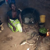 <span class=heading><b>Bon Appetit!</b> by Tara Beattie</span><br />In Malawi, 99% of the rural population use open firewood cook stoves, emitting high levels of black carbon, fine particles and other air pollutants. Prolonged exposure to pollutants is associated with high risks of cardiovascular diseases and respiratory illnesses. The case (pictured left) contains portable air quality monitoring equipment which enables our researchers to measure the amount of air pollutants, and inform the development of interventions to improve air quality.<br /><span class=small>Image: © 2017 Tara Beattie</span>.  <span class=small>Collaborators: Fiona Sutherland, PhD Student who took the photograph and completed the research. Tracy Morse, Iain Beverland</span>