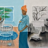 <span class=heading><b>Pre-eclampsia: managing risk</b> by Tunde Csoban</span><br />Pre-eclampsia, in pregnancy, can be life-threatening. Magnesium sulphate can be used to manage the seizures it causes, however, availability is limited in low and middle-income countries. In collaboration with King's College London, we are comparing data from a number of earlier studies of the mineral's use across 33 countries. Modelling the data, we can pinpoint those at highest risk and in greatest need, enabling countries with scarcer supplies to save more lives.<br /><span class=small>Image: © 2020 Tunde Csoban</span>