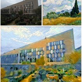 <span class=heading><b>The art of algorithms</b> by Anastasios Stamoulakatos</span><br />The image demonstrates the application of deep learning algorithms for task automation, in this case, learning the difference between two images (top) to create a combined image (below). A form of artificial intelligence, this technology can be applied widely in industry, such as to perform maintenance. Working with subsea service provider, N-Sea, we are developing these algorithms to automate detection and repair of damage to undersea pipelines.<br /><span class=small>Image: © 2020 Anastasios Stamoulakatos</span>