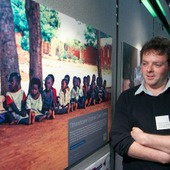 <span class=heading><b>2014</b></span><br /><p class=int>Government and Third Sector catergory winner Magnus Currie, with his image of &rsquo;Tithandizane Orphan Care Centre&rsquo;.</p><span class=small>Image: &copy; 2014 Guy Hinks</span>