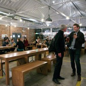 <span class=heading><b>Drygate Brewery</b> by Guy Hinks</span><br /><p class=int>The wonderful exhibition space at the Drygate Brewery in Glasgow.</p><span class=small>Image: &copy; 2018 Guy Hinks 2015</span>