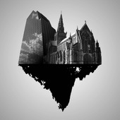 """<span class=heading><b>Consuming Cathedrals</b> by Leighanne Higgins (Marketing)</span><br /><p class=int>Assertions of living in a society controlled by consumer culture has led to the popular belief in """"Cathedrals of Consumption"""" (Ritzer, 2005), which denote that consumption spaces, such as malls are attributed today with the deity status of Cathedrals. However, given that approximately a third of the world population are Christian, this consumer research recognises that although malls have become for many Cathedrals of consumption, Christianity and religion equally hold importance in many lives and that the Christian Cathedral is still heavily consumed. Thus this consumer research provides a positive contribution through its investigation of the tangible aspects of consuming Christianity, (in particular Catholicism). The image aptly illustrates this research, with the merging Cathedral and commercial consumer culture exemplifying that for many, consumption sites like malls have indeed become cathedrals of consumption, but for many individuals an important part of their 21st century life revolves around 'Consuming Cathedrals'.</p><span class=small>Image: © 2012 Leighanne Higgins</span>"""