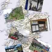 <span class=heading><b>Postcards from the railway</b> by Kathy Hamilton (Marketing)</span><br />Our research explored the community role in the regeneration of social places for local tourism promotion in Scotland. We focused on the regeneration of railway stations through a community engagement scheme called 'Adopt a Station.' Many studies on tourism planning reach pessimistic conclusions with regards to the capabilities of local residents to make valid and worthwhile contributions to the tourism process. In contrast we highlight the potential for co-creation when the community are offered opportunities for involvement in a place meaning creation process through the development of an outward facing community gateway.<br /><span class=small>Image: &copy; 2013 Kathy Hamilton</span>. &nbsp;<span class=small>Research by Kathy Hamilton from Marketing in collaboration with Matthew Alexander from Marketing</span>