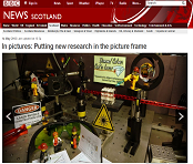 Front page BBC Scotland